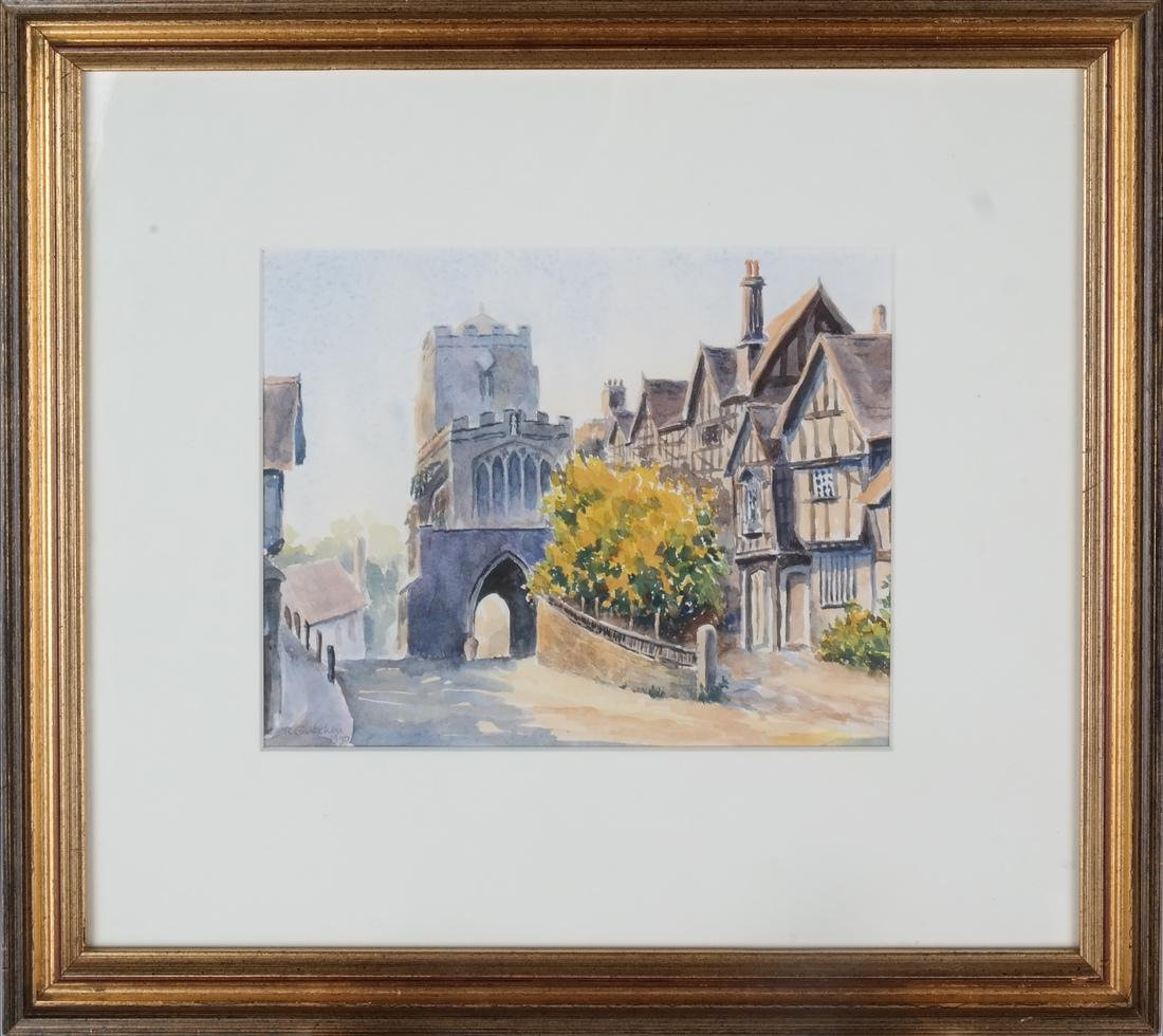 Leicesters Hosp., England - Watercolor - 2