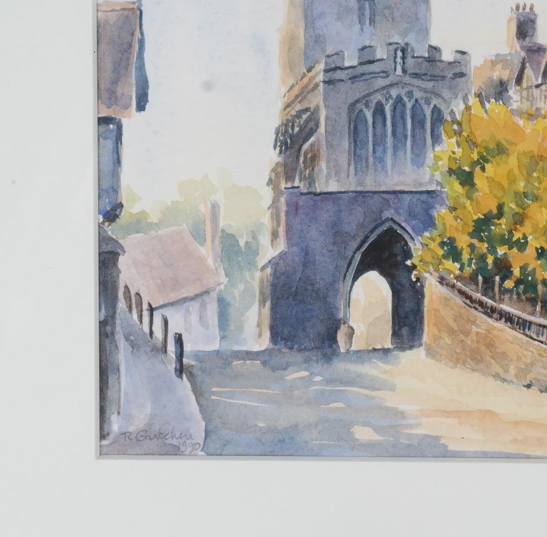 Leicesters Hosp., England - Watercolor - 3
