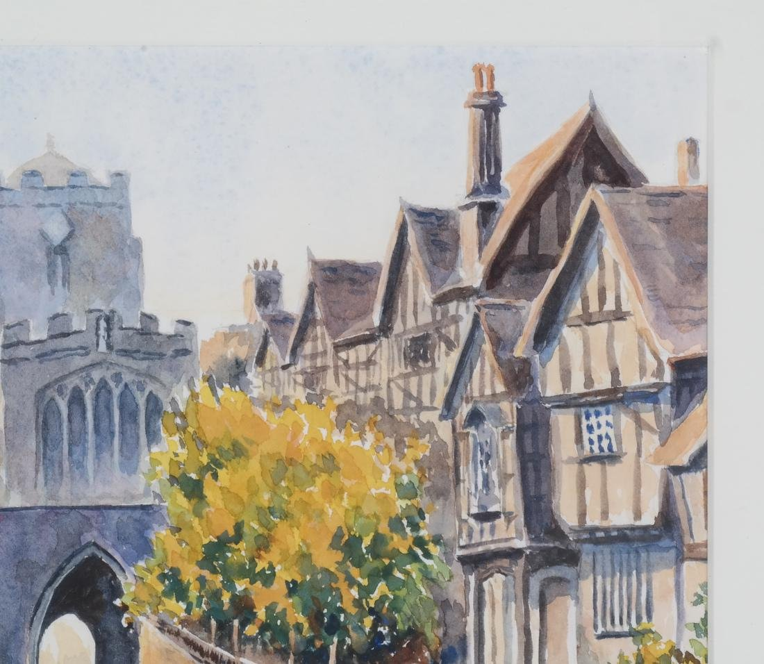 Leicesters Hosp., England - Watercolor - 4