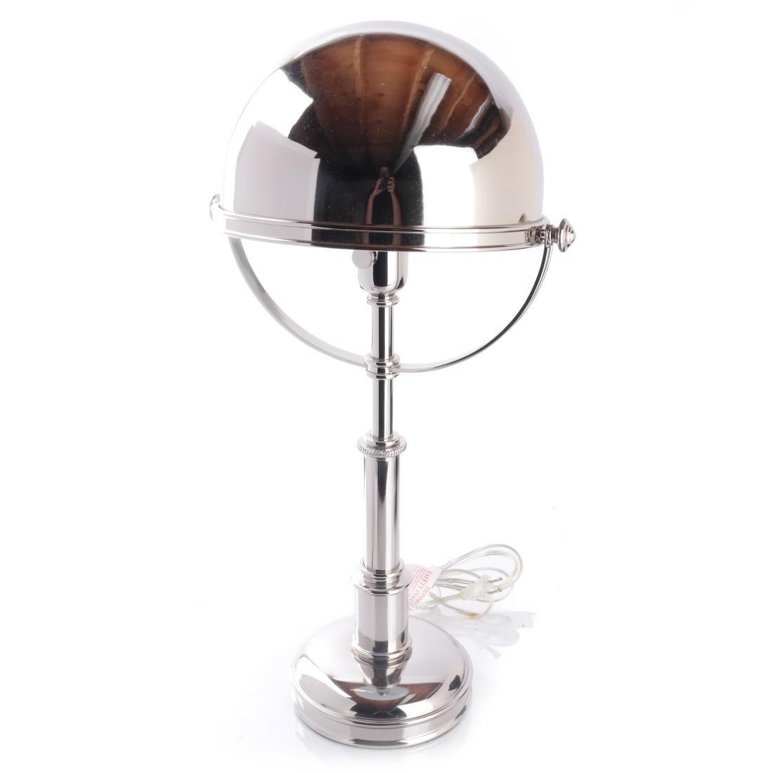 Pair Ralph Lauren Carthage Helmet Lamps - 2