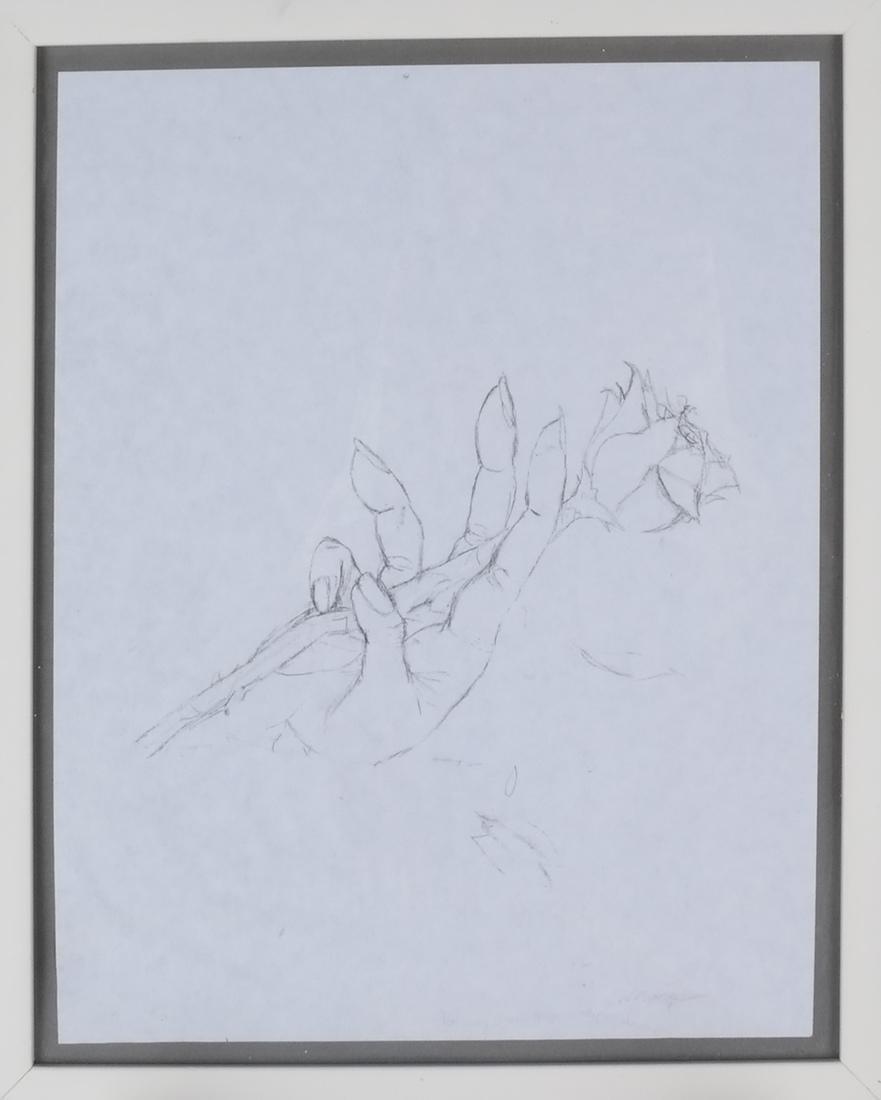 Two Prints: Adam & Eve, Hand - 2