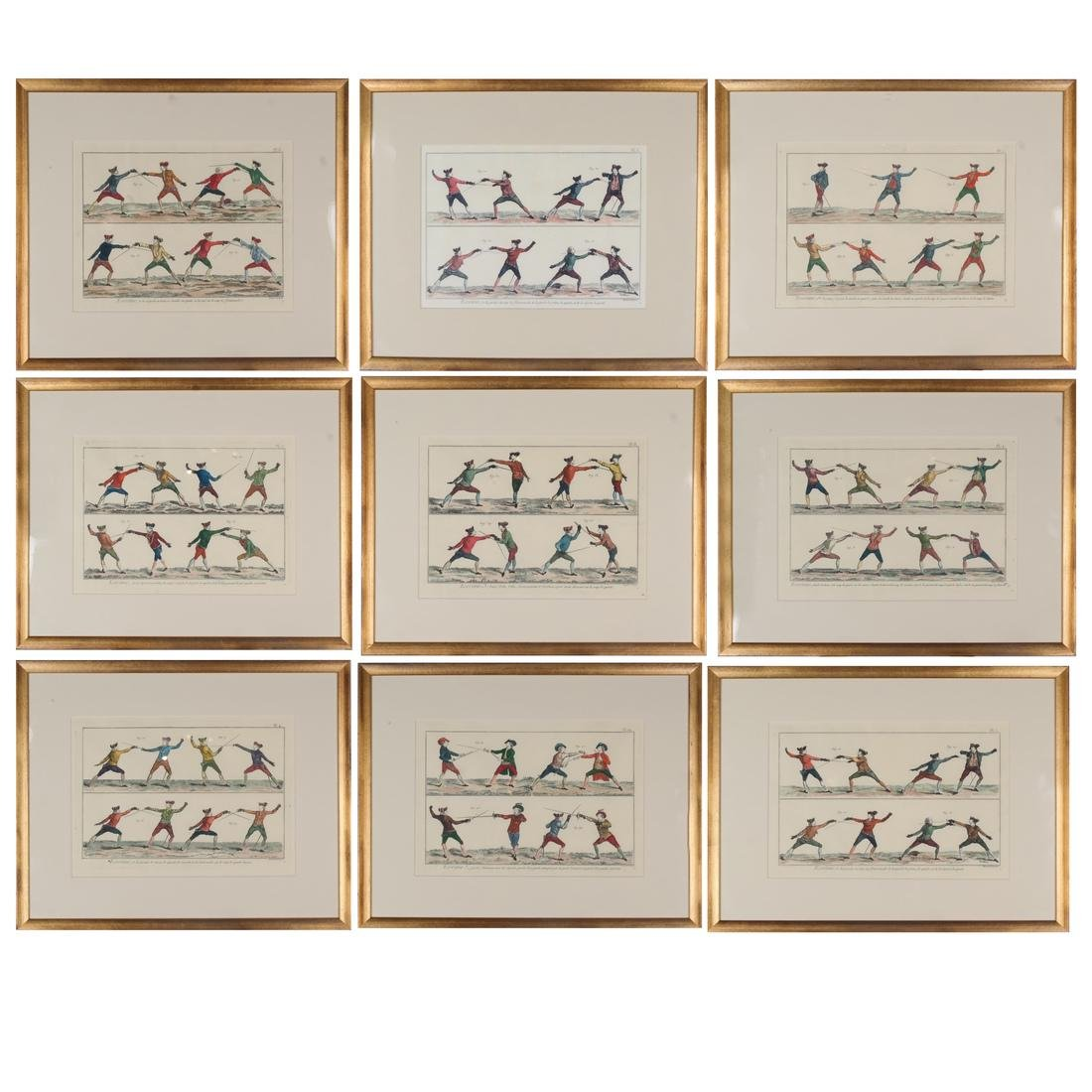 9 Benard Direxit Color Fencing Prints
