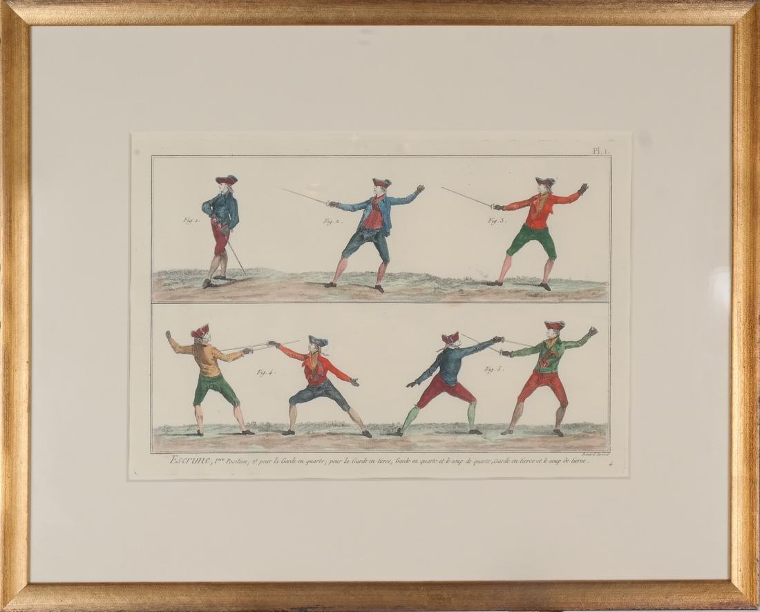 9 Benard Direxit Color Fencing Prints - 3