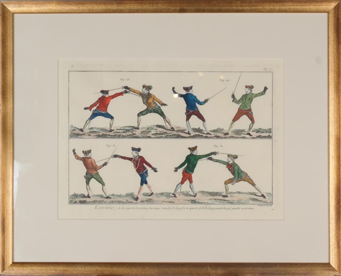 9 Benard Direxit Color Fencing Prints - 4