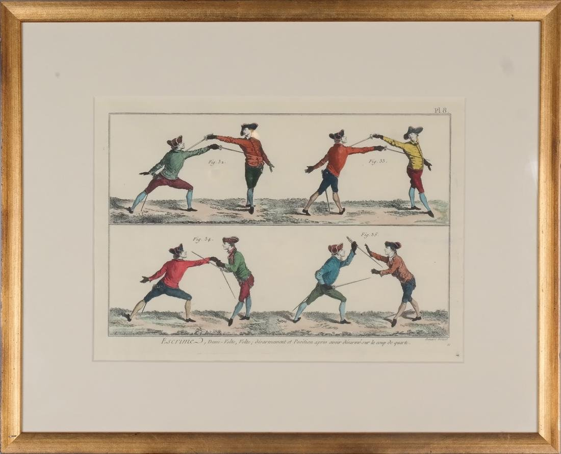 9 Benard Direxit Color Fencing Prints - 5