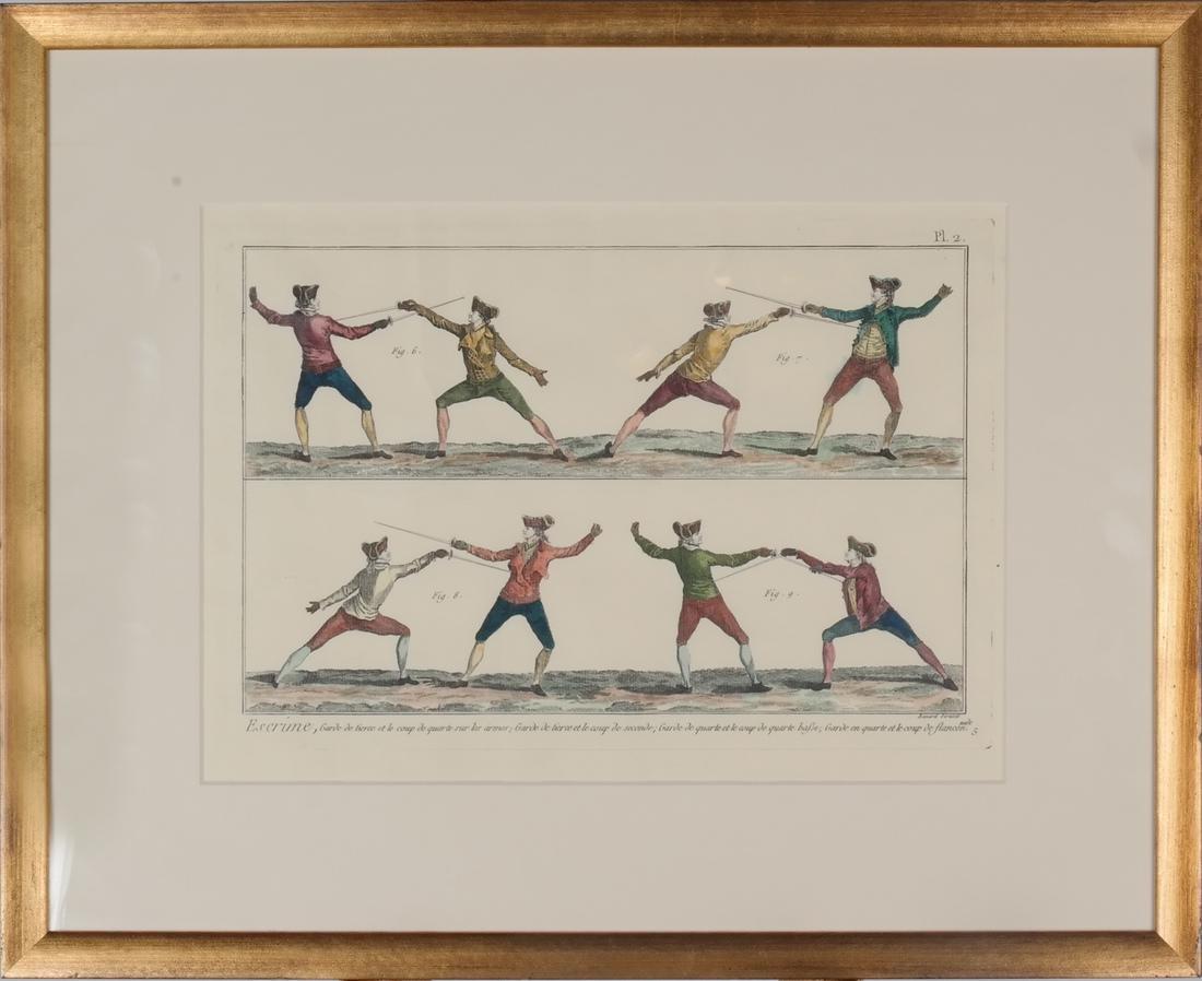 9 Benard Direxit Color Fencing Prints - 6
