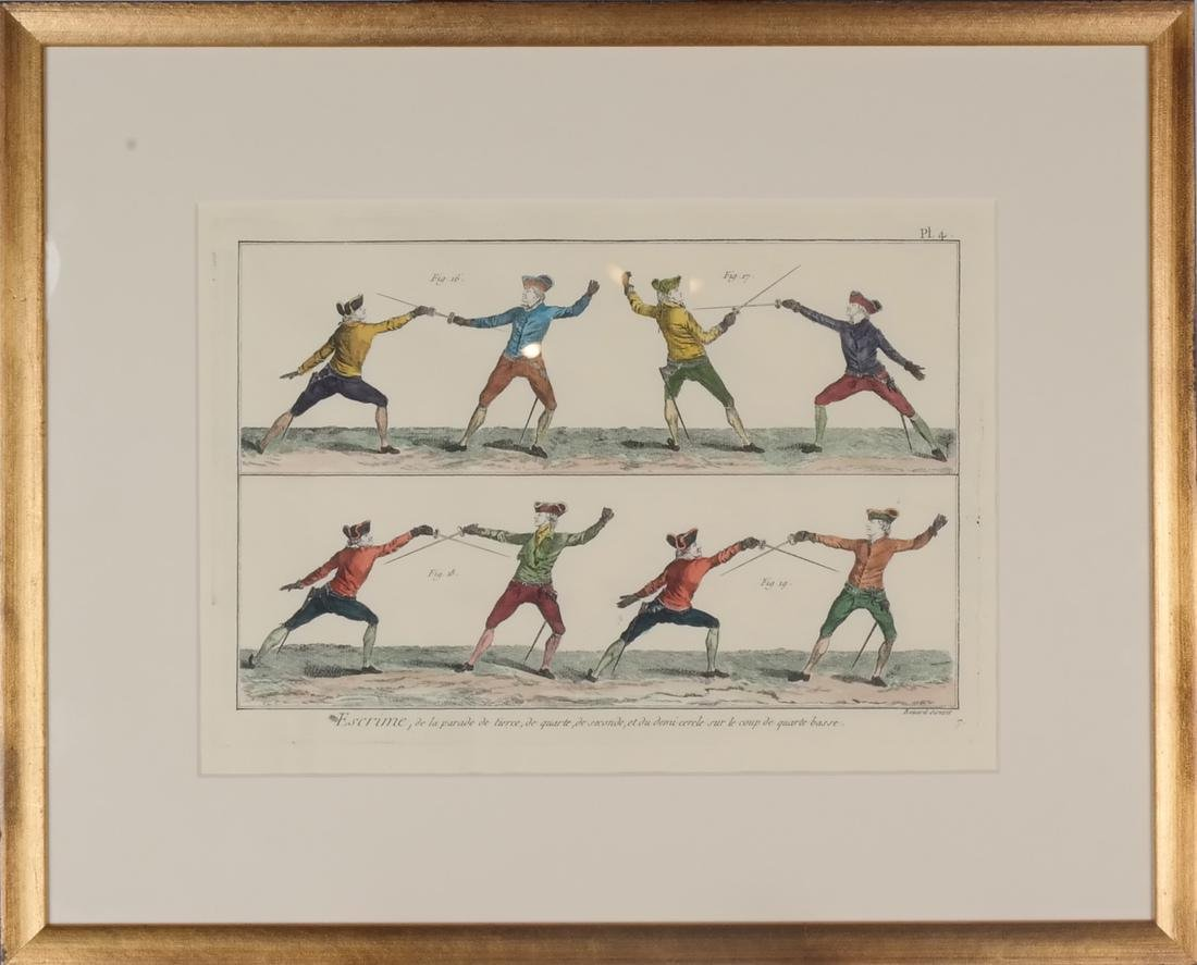 9 Benard Direxit Color Fencing Prints - 7