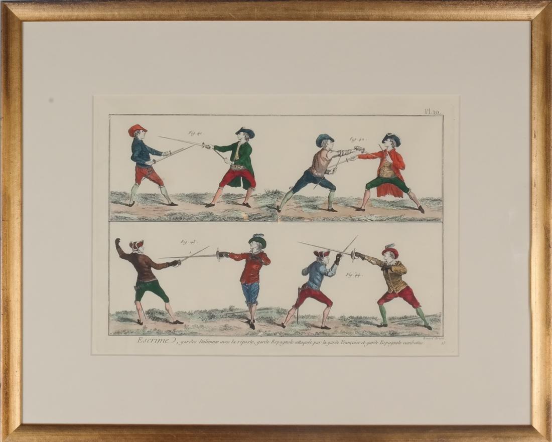 9 Benard Direxit Color Fencing Prints - 8