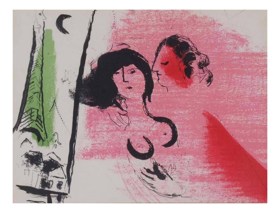 Two Marc Chagall-Style Prints - 2