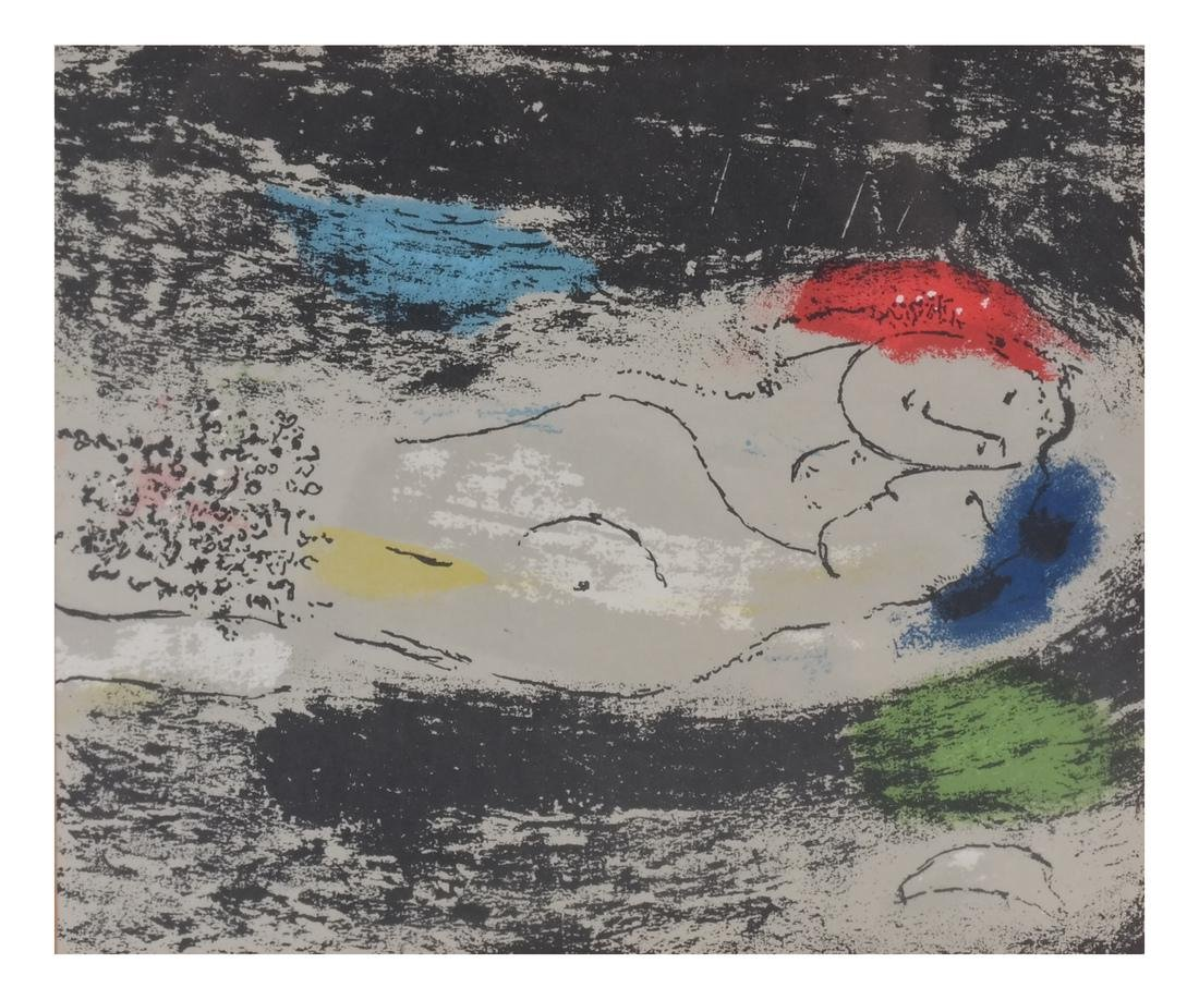 Two Marc Chagall-Style Prints - 6