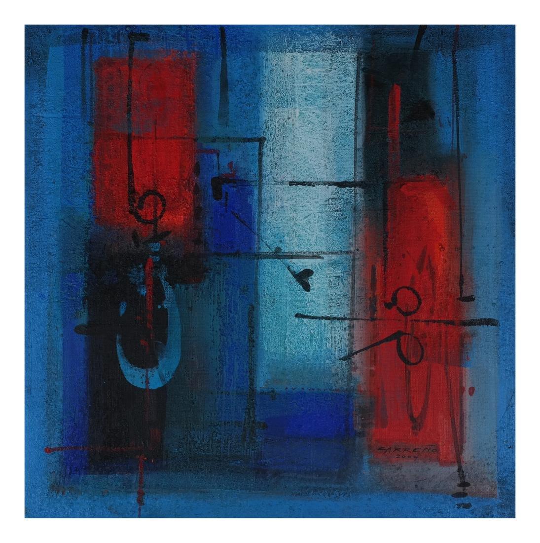 Antonio Carreño: Blue Cycle I, 2004