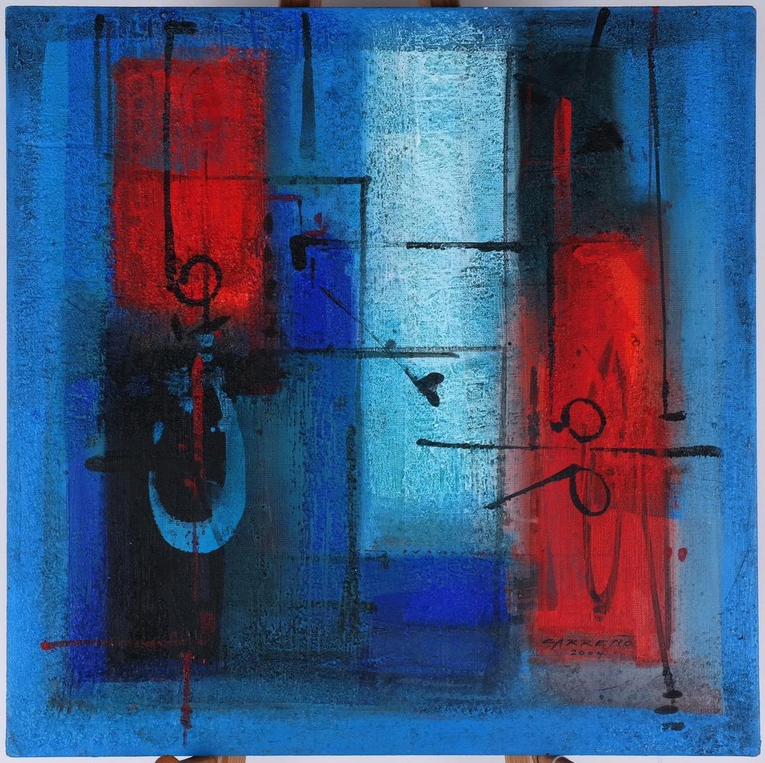 Antonio Carreño: Blue Cycle I, 2004 - 2