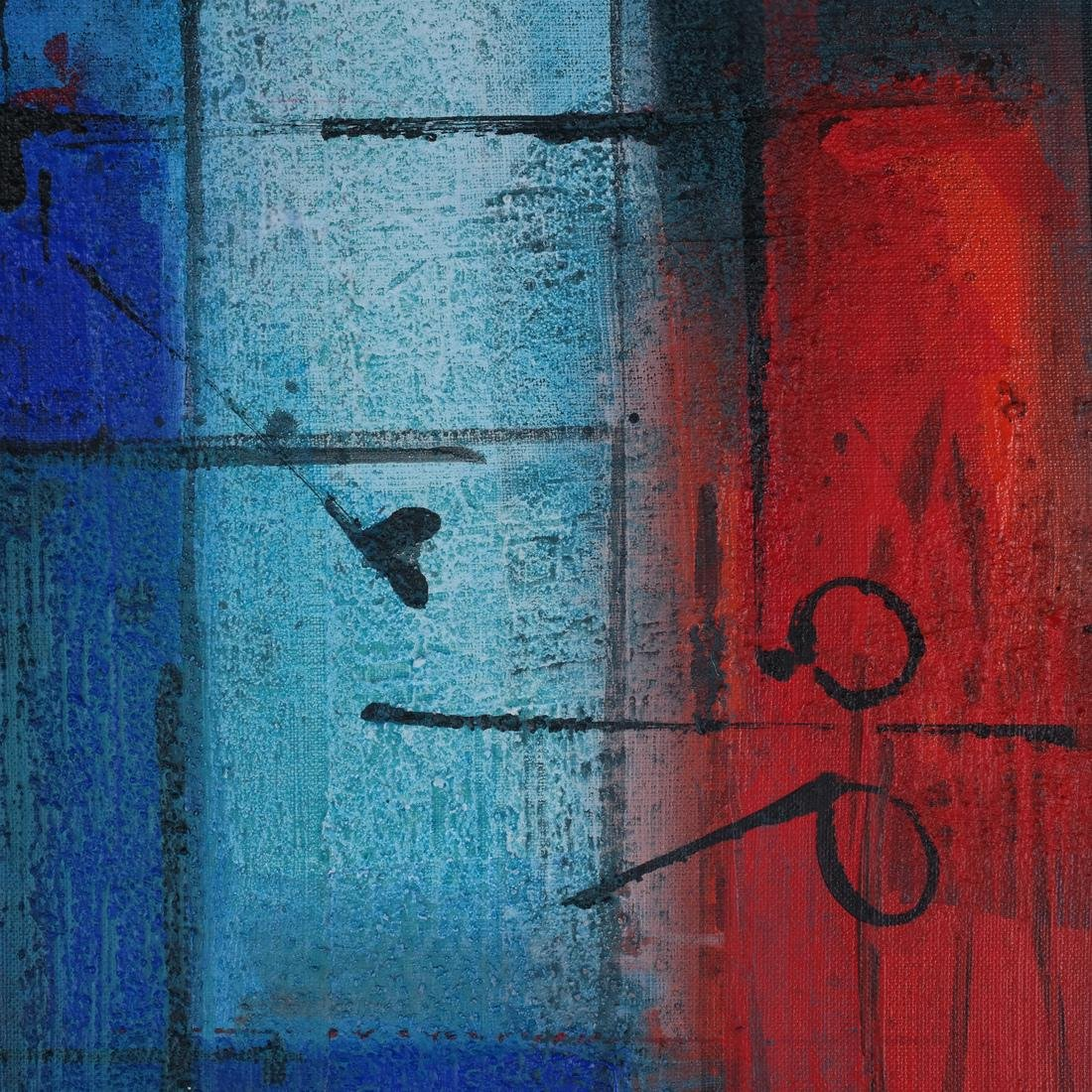 Antonio Carreño: Blue Cycle I, 2004 - 4