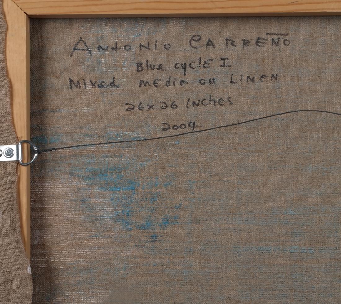 Antonio Carreño: Blue Cycle I, 2004 - 5
