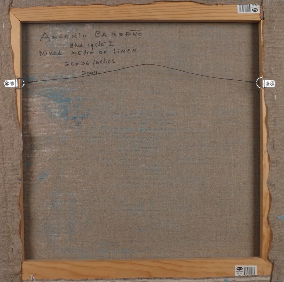 Antonio Carreño: Blue Cycle I, 2004 - 6