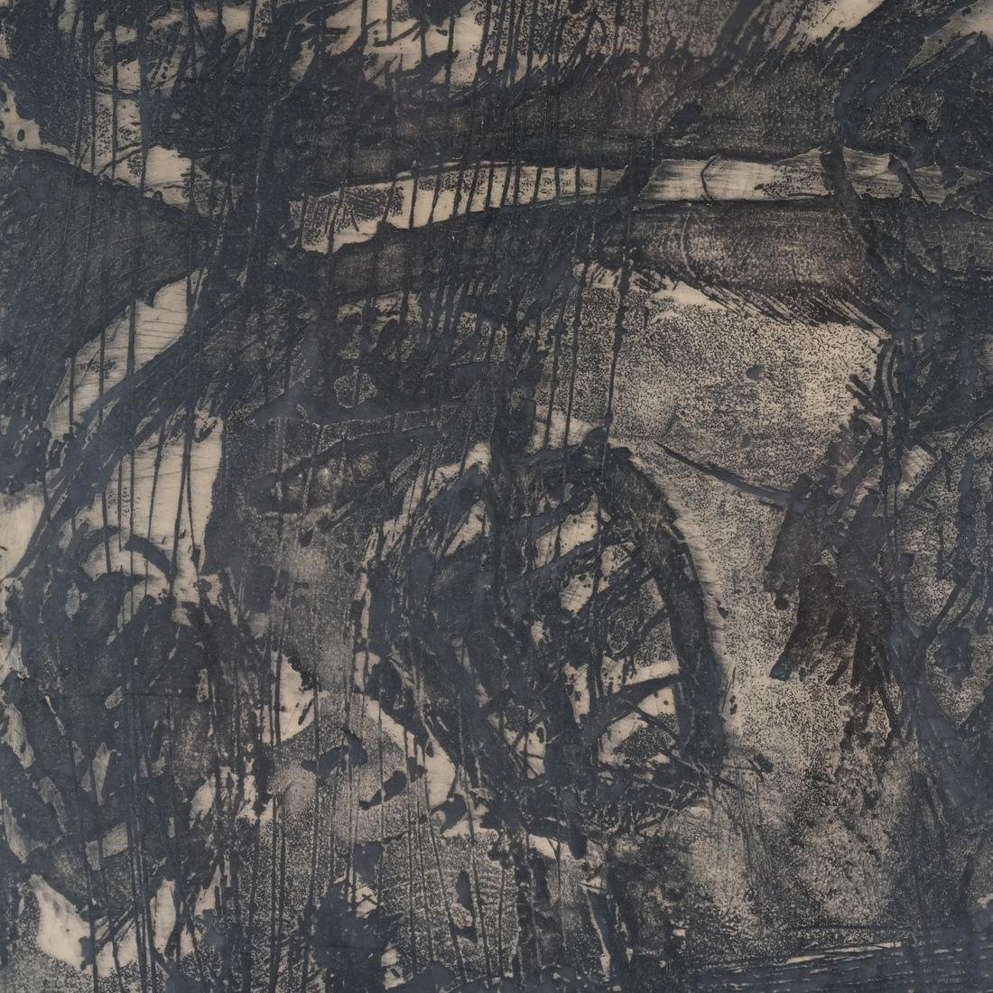 Mohan Samant: Abstract Lithograph - 4