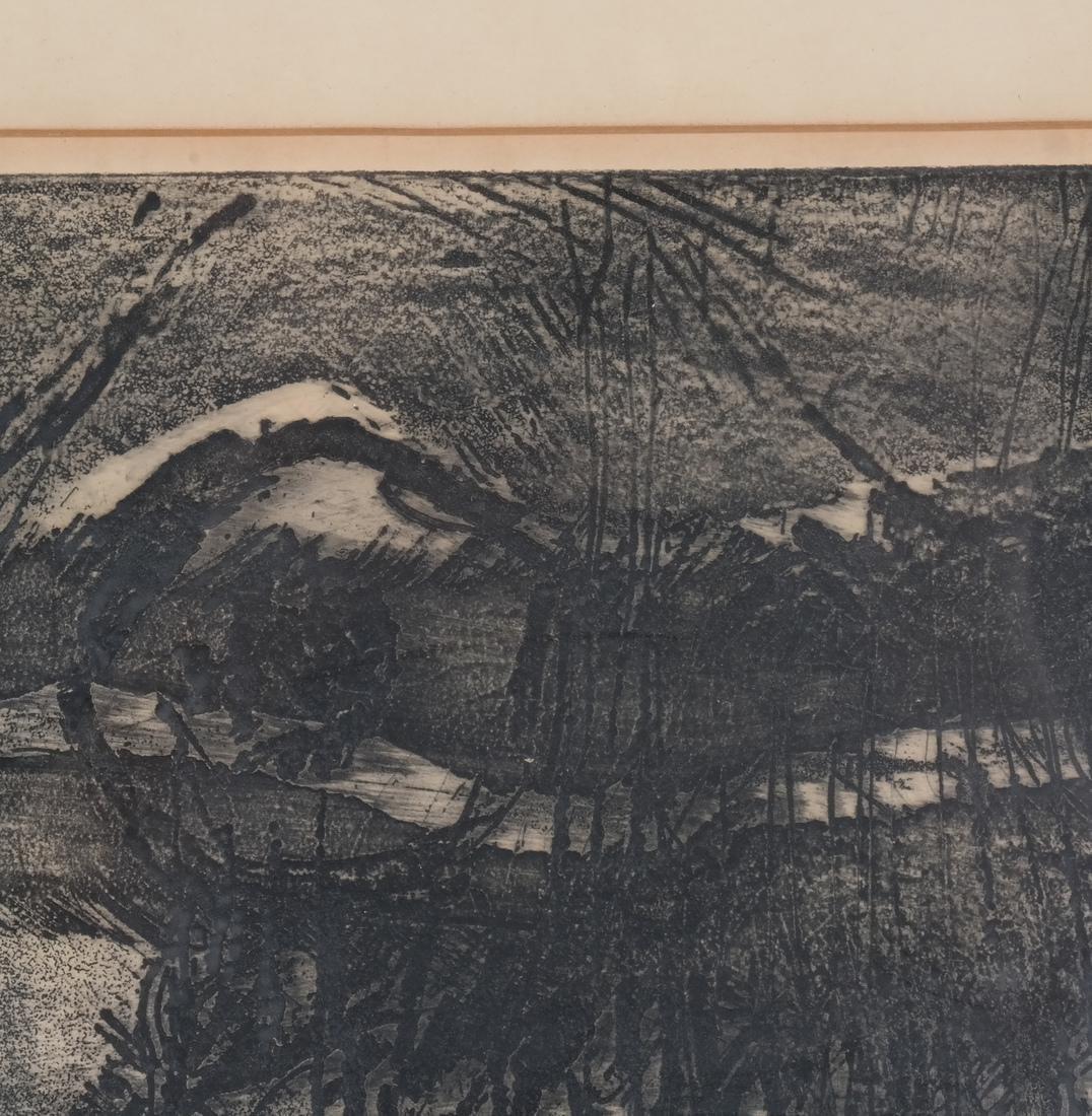 Mohan Samant: Abstract Lithograph - 5