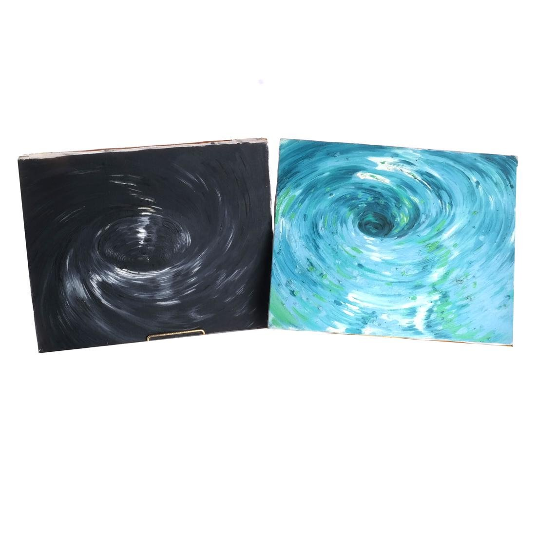 Ben Bianchi: Vortex, Set of Four Oils on Canvas - 4