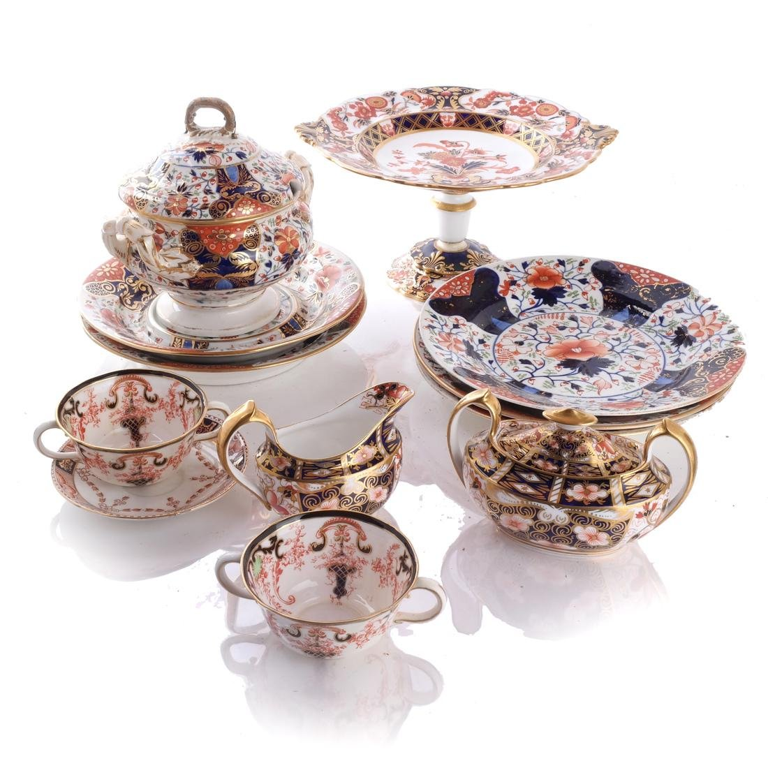 Royal Crown Derby, Dinner Service Items