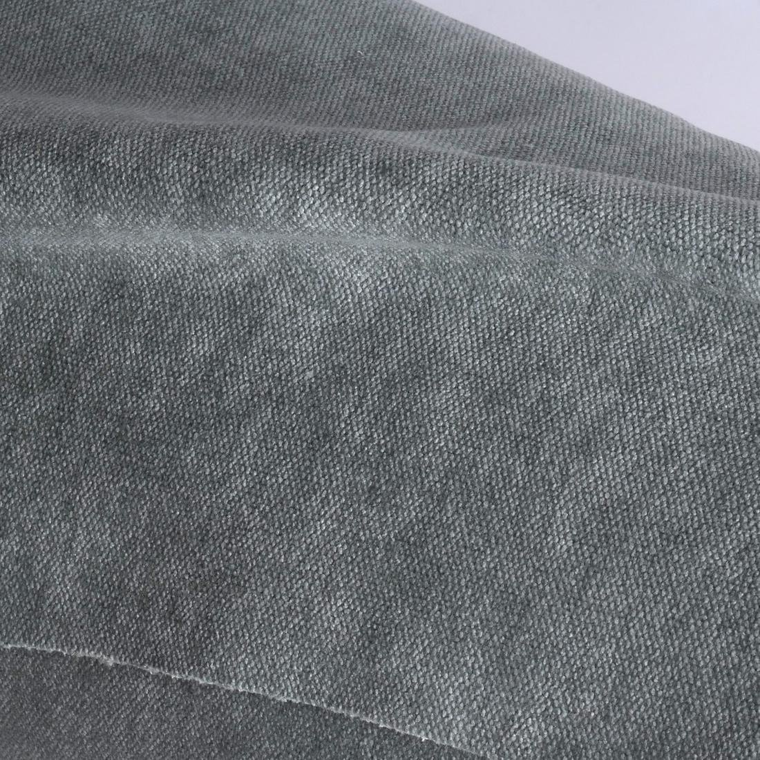 Holly Hunt Brushed Grey Upholstery Fabric - 2