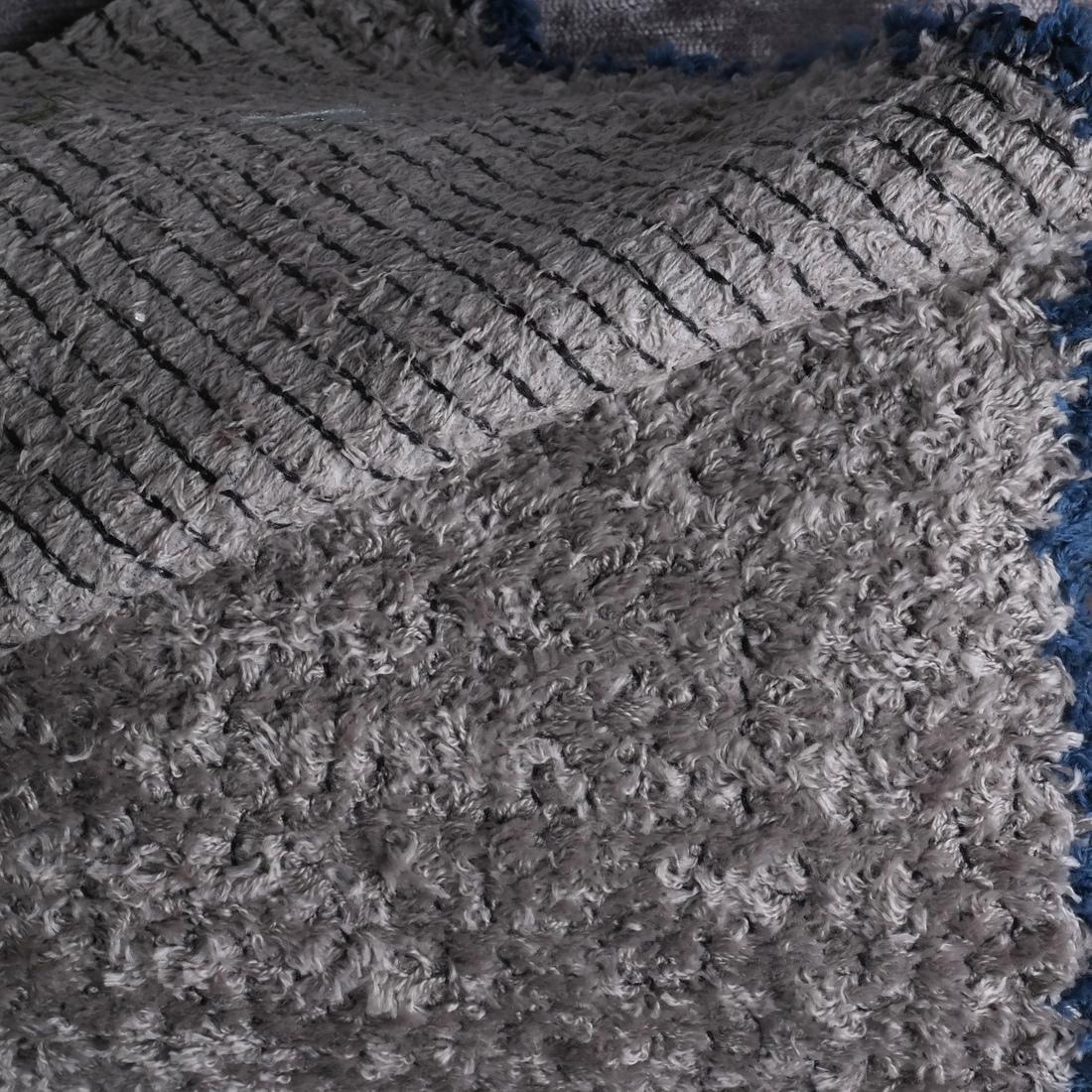 Lavender Grey Modern Designer Fabrics: 4 Bolts - 5