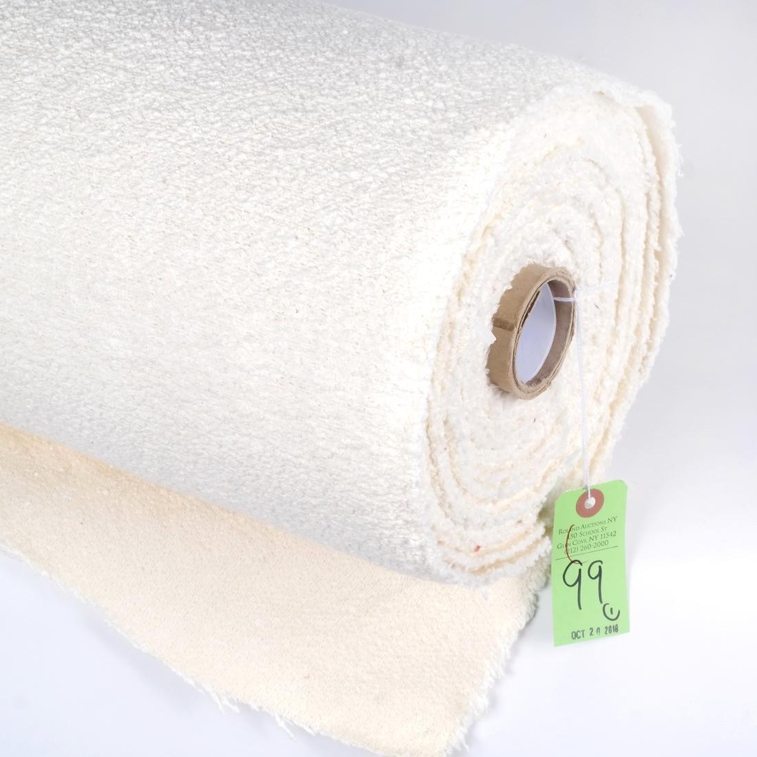 Fret Fabrics Cotton Off-White Texture