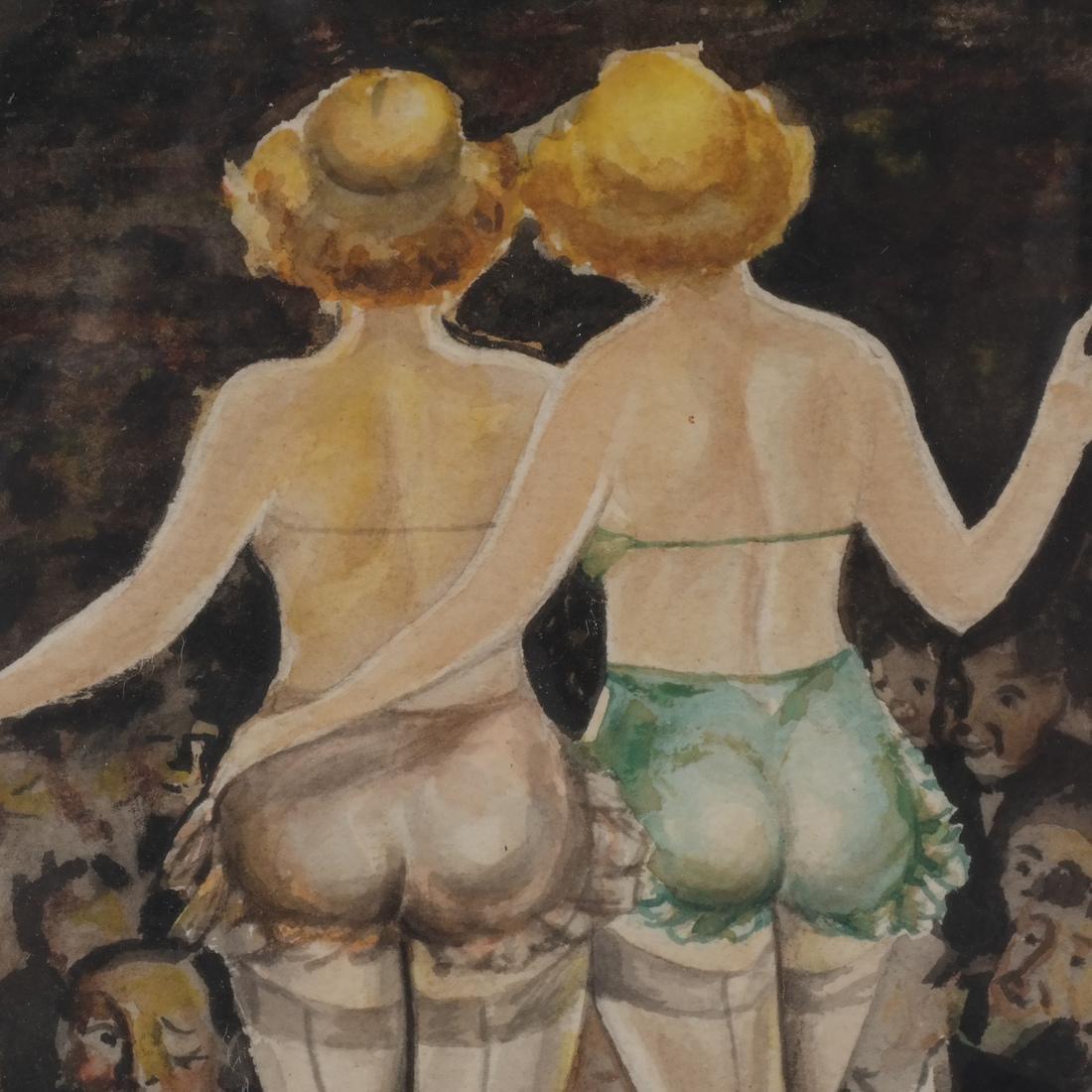A.J. Plotnik: Watercolor - Dancers - 4