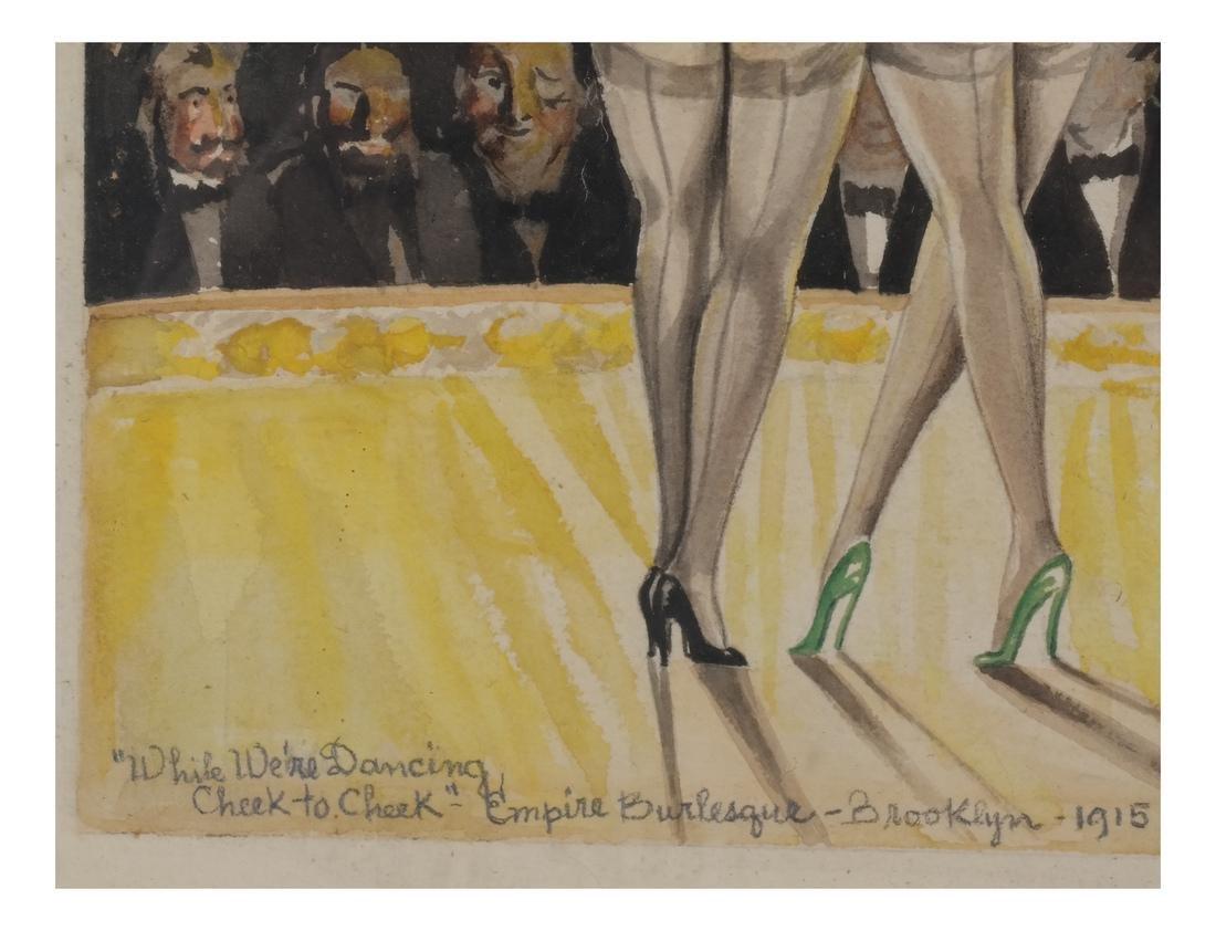 A.J. Plotnik: Watercolor - Dancers - 6