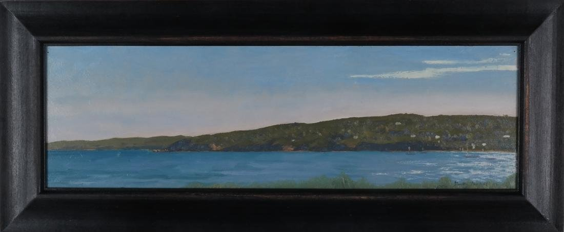 Simon Parkes: Martha's Vineyard, Oil on Panel