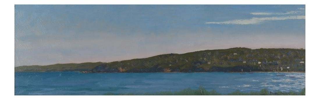 Simon Parkes: Martha's Vineyard, Oil on Panel - 2