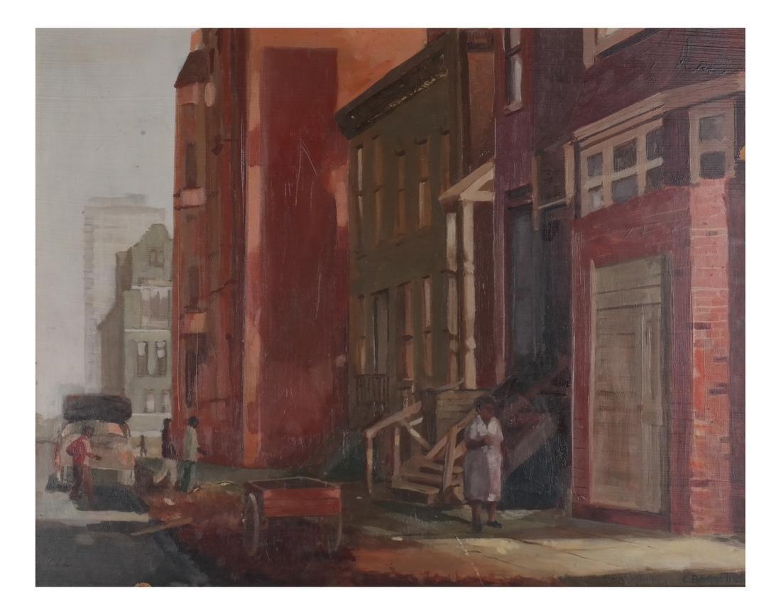 Charles Bennett: Harlem Painting