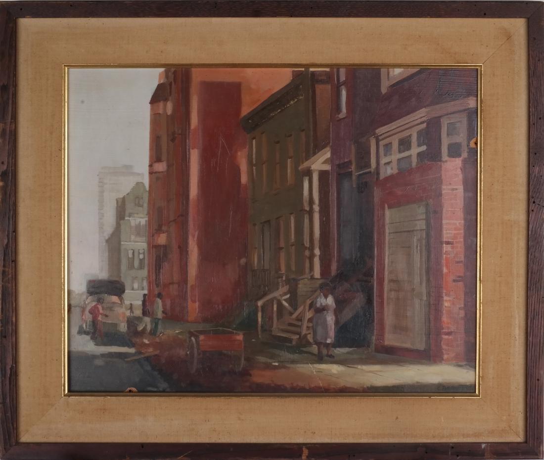 Charles Bennett: Harlem Painting - 2