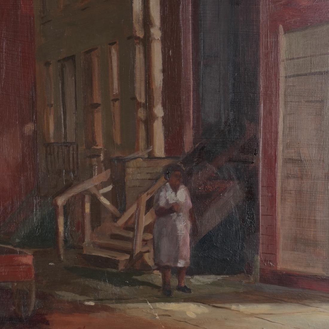 Charles Bennett: Harlem Painting - 3