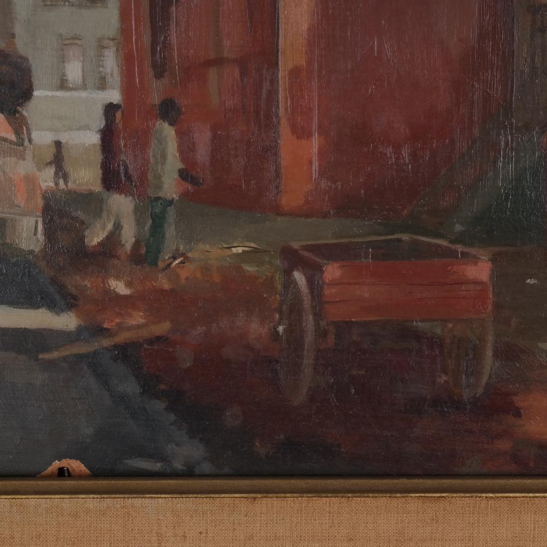 Charles Bennett: Harlem Painting - 5