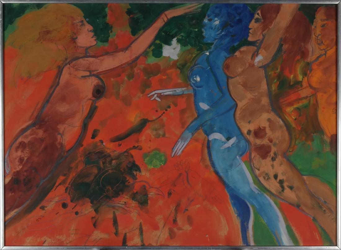 Robert Beauchamp: Abstract Painting - 2