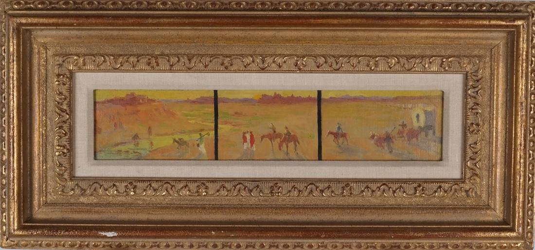 Frank Reed Whiteside: Western Painting