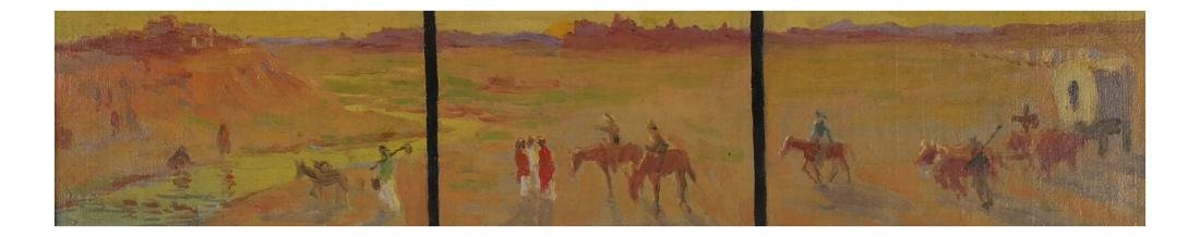 Frank Reed Whiteside: Western Painting - 2