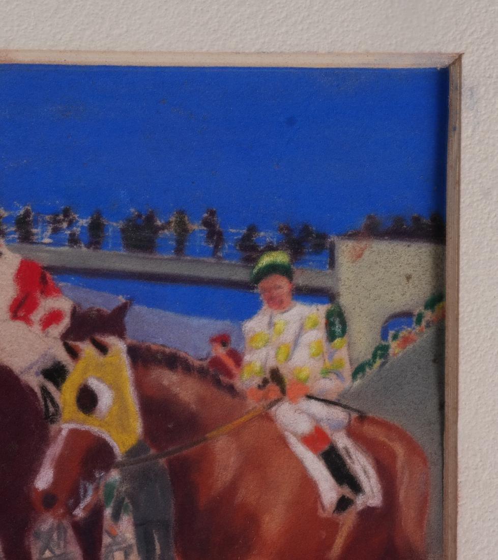 Equestrian Pastel Paintings - 3