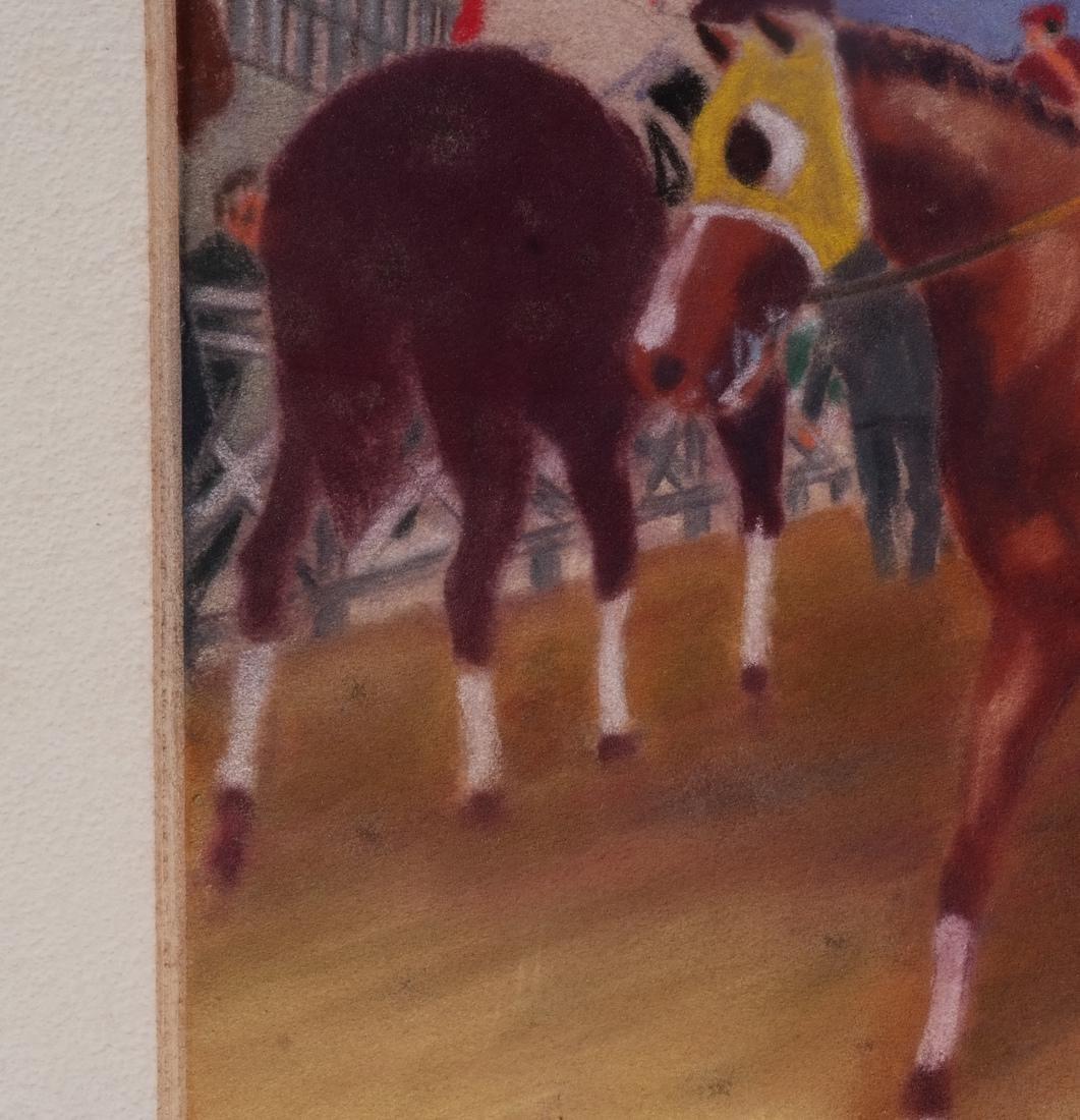 Equestrian Pastel Paintings - 4
