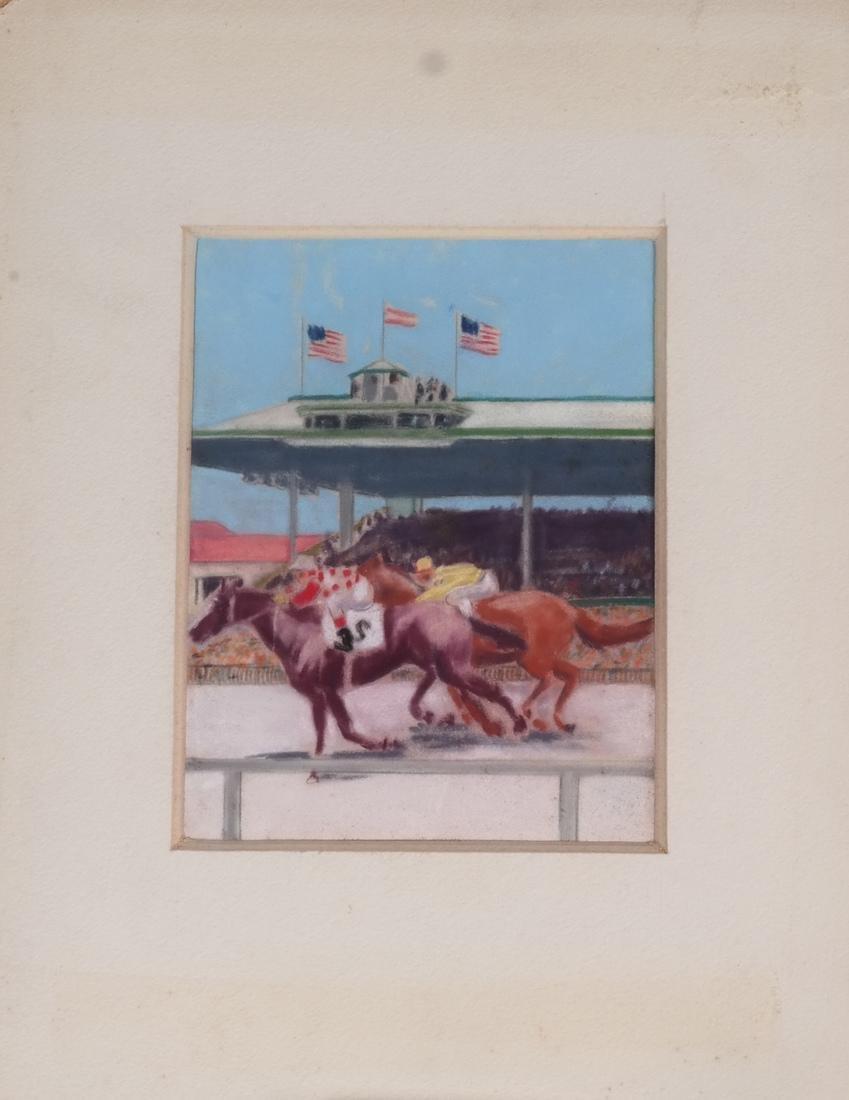 Equestrian Pastel Paintings - 6