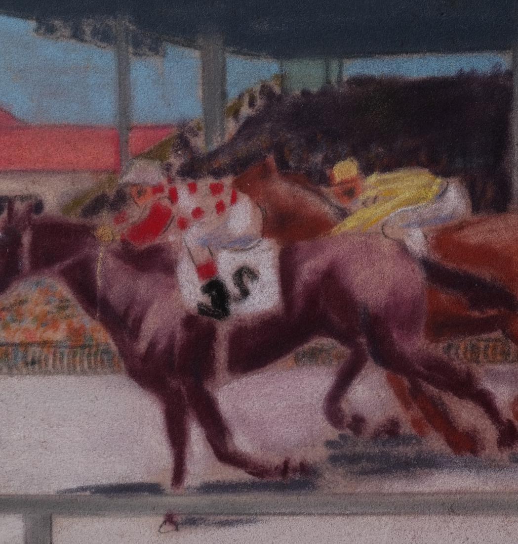 Equestrian Pastel Paintings - 8