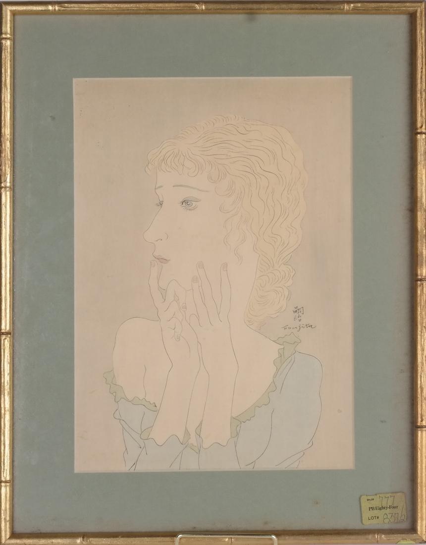Foujita: Woodblock Print