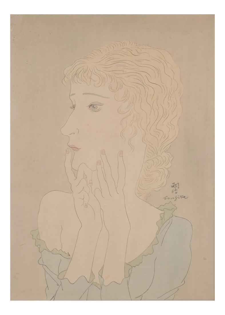 Foujita: Woodblock Print - 2