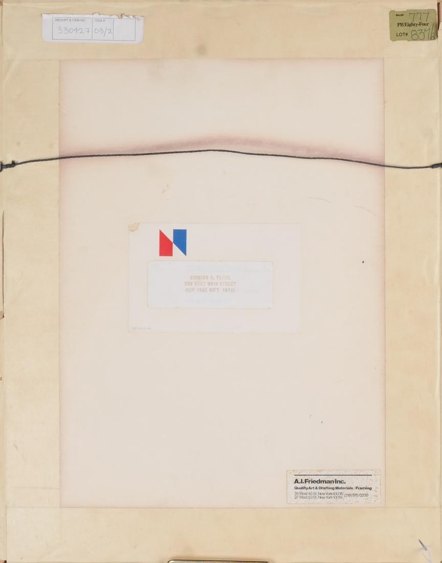 Foujita: Woodblock Print - 5