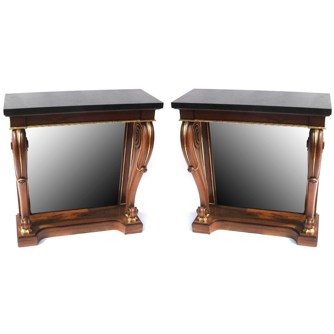 Pair of Regency Pier Consoles