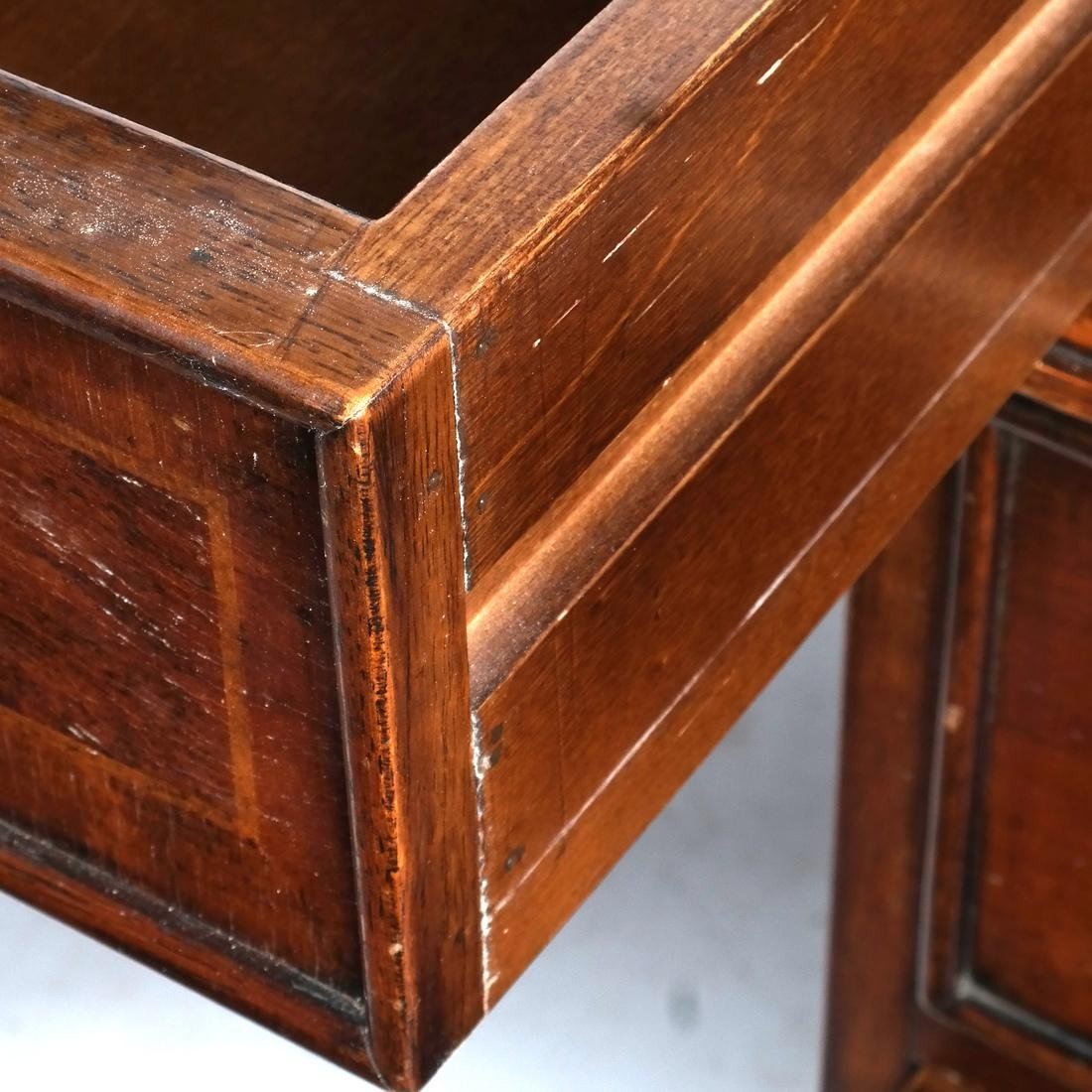English Style Three-Section Desk - 5