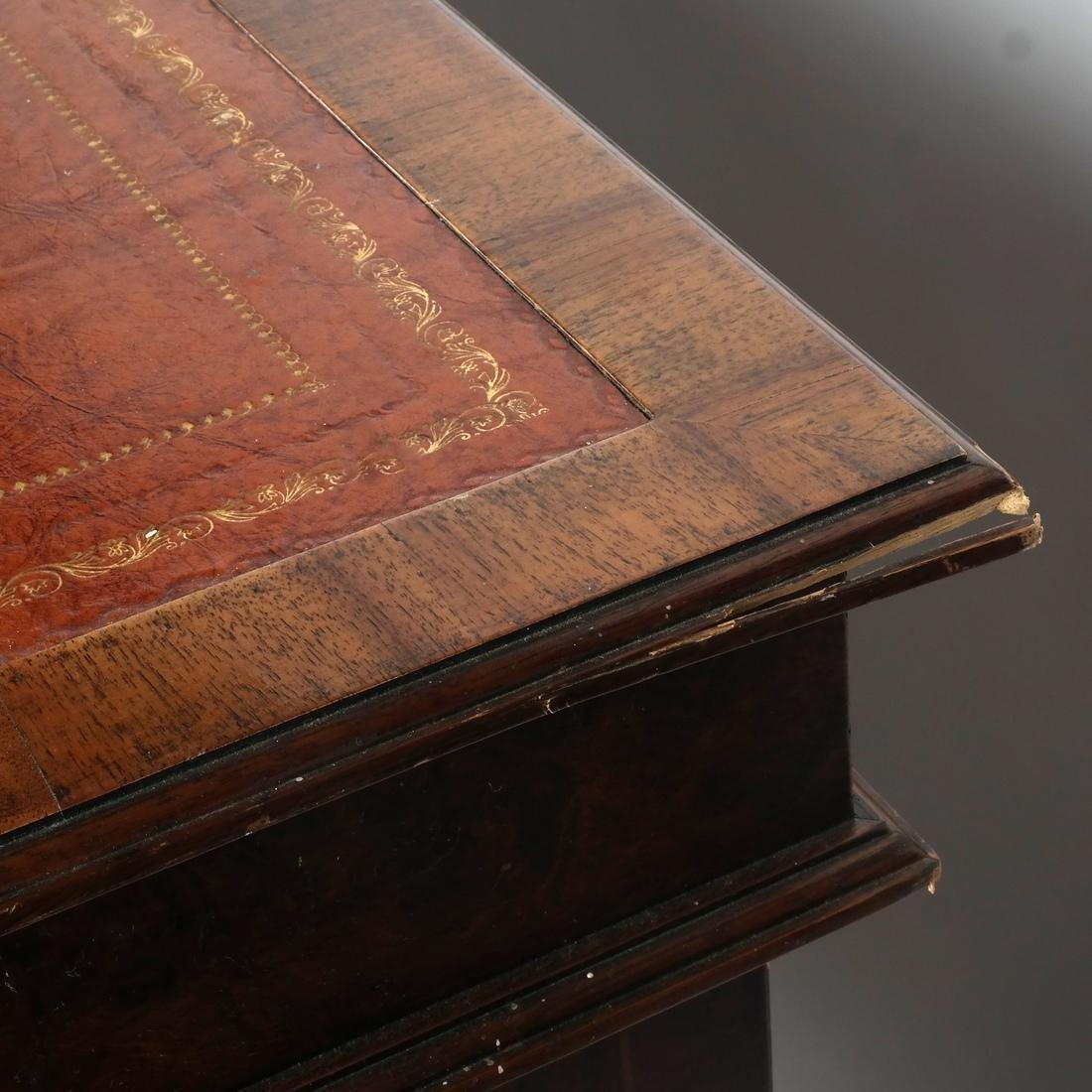 English Style Three-Section Desk - 6