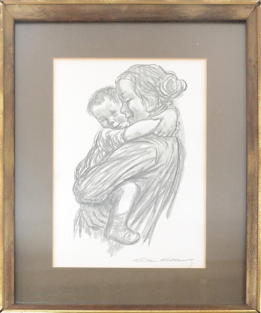 Kathe Kollwitz Mother Child Print