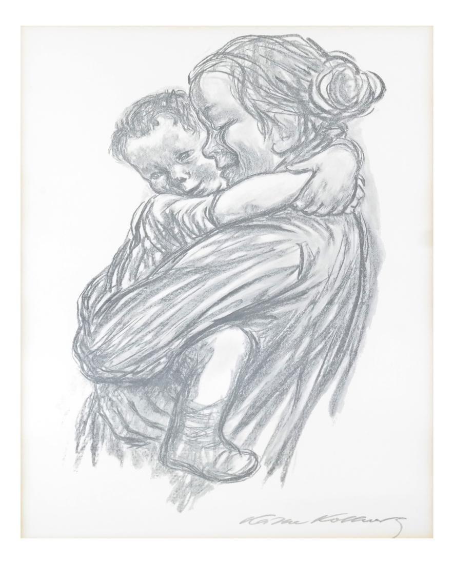 Kathe Kollwitz Mother Child Print - 2