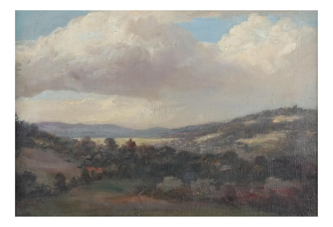 Pastoral Landscape Oil on Canvas